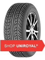 Shop for Uniroyal tires at Mad Hatter Mufflers and Brake
