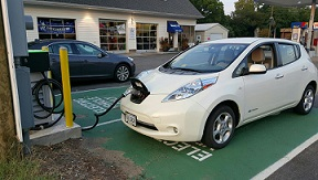 Electric Car Charging Station in Ashland, VA