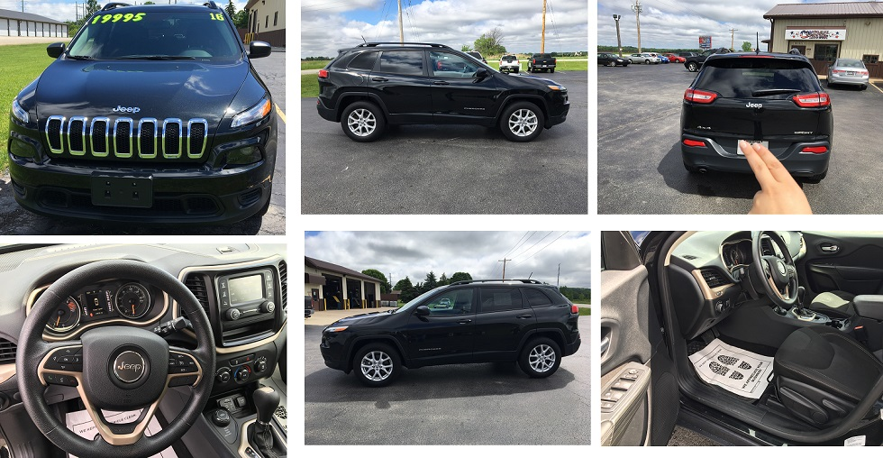 2016 Jeep Cherokee in Greenleaf