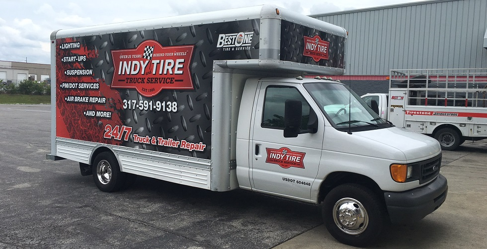 Commercial Tire Repair in Lawrence, IN