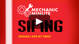 Mechanic Minute Tire Siping