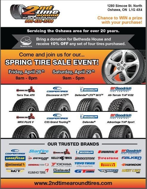 Spring Tire Special in