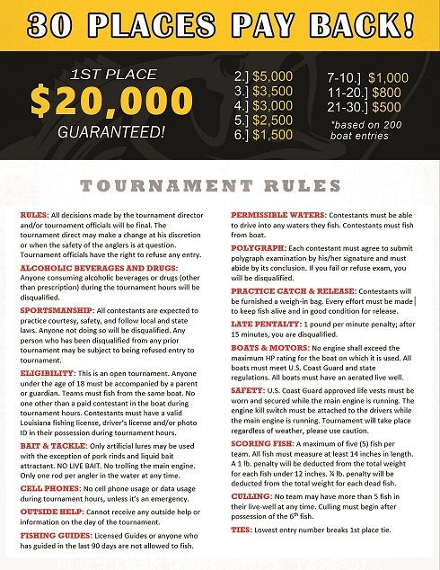 Annual Bass Tournament - News | Despino's Tire Service in