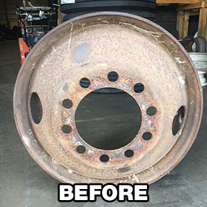 Commercial Wheel Repair & Powder Coating in Eveleth, MN