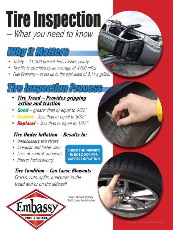 Tire Inspection in Tucson, AZ