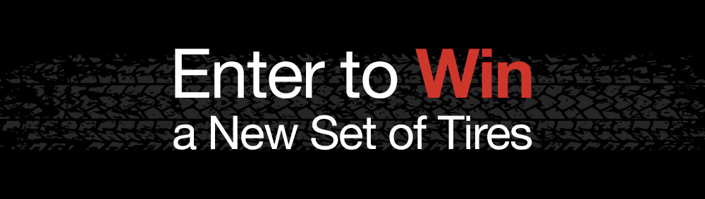 Enter to Win a New Set of Tires in Longview, WA