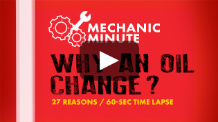 Mechanic Minute Oil Change