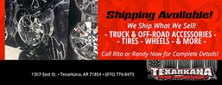 Shipping in Texarkana, AR