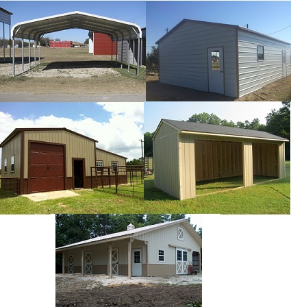 Carports & Portable Buildings in Jay, OK