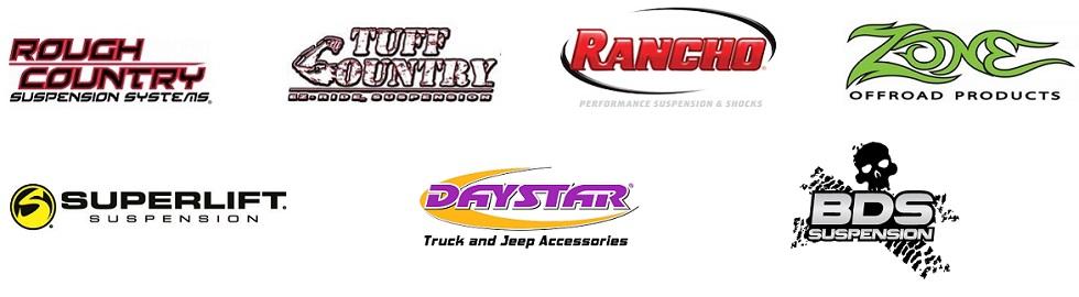 Lift Kit Brands >> Lift Kits High Ridge Mo Tire Bargains