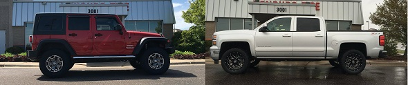 Lift & Leveling Kits in Maplewood, MN