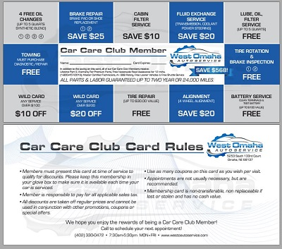 Car Care Club  in Omaha, NE