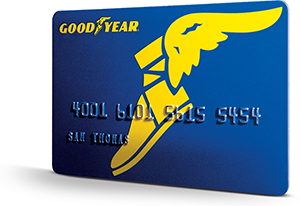 Goodyear Credit Card in XFOCUSAREA1X