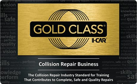 I-CAR Gold Certified
