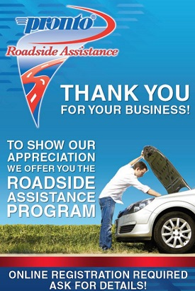 Pronto Warranty Roadside Assistance in River Edge, NJ