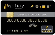 Synchrony Car Care Card in Aiken, SC
