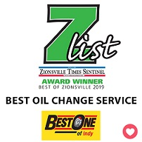 Z-List Best Oil Change Winner 2019 Award