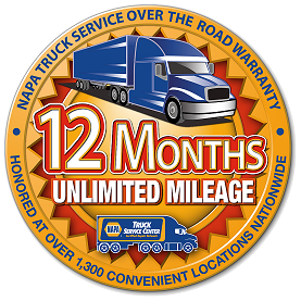NAPA Unlimited Mileage Warranty in Garden City, GA
