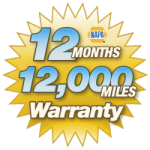 NAPA 12-month/12,000-mile Warranty in St. Marys, OH