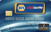 NAPA Credit Card in Augusta, GA